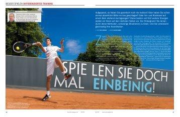 """BESSER SPIELEN DIFFERENZIERTES TRAINING - LTTC """"Rot-Weiß"""""""