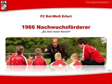 Folie 1 - FC Rot-Weiss Erfurt e.V.