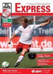 RWE unter Strom Preußen Münster - FC Rot-Weiss Erfurt e.V.