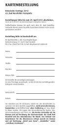 Bestellschein - Rotary Club Bad Hersfeld