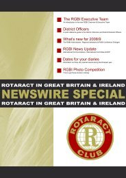 Download Newswire - Rotaract in Great Britain & Ireland