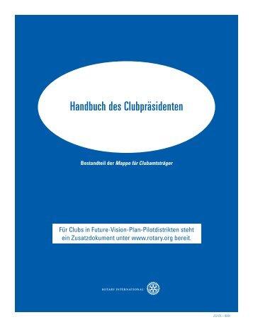 Handbuch des Clubpräsidenten