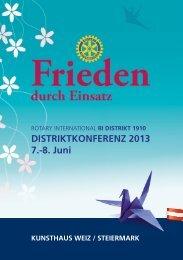 Einladung (DE) - Rotary Österreich