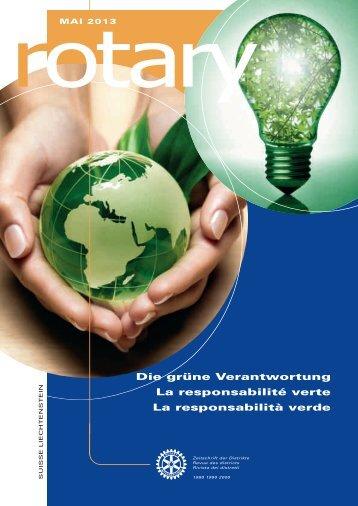 Lesen Sie mehr im aktuellen Magazin - Rotary Schweiz