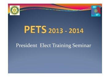 004 PETS 2013 - 2014 Onno Koerten - Rotary Nederland