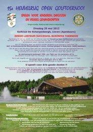 Golftoernooi 2012 - Rotary Nederland