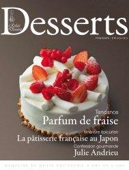 Parfum de fraise - Relais Desserts