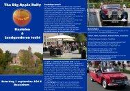 Flyer Big Apple rally 2012
