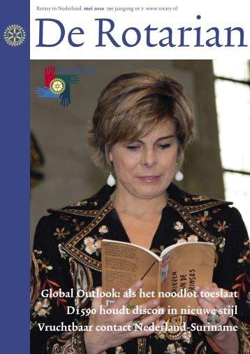 Global Outlook: als het noodlot toeslaat D1590 ... - Rotary Nederland