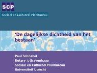 Paul Schnabel - Rotary Nederland
