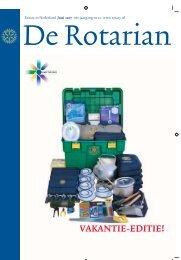 VAKANTIE-EDITIE! - Rotary Nederland