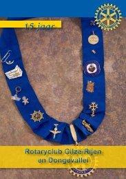 jubileumboekje - Rotary Nederland