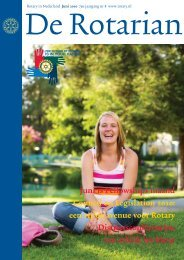 Juni is Fellowships maand Council on ... - Rotary Nederland