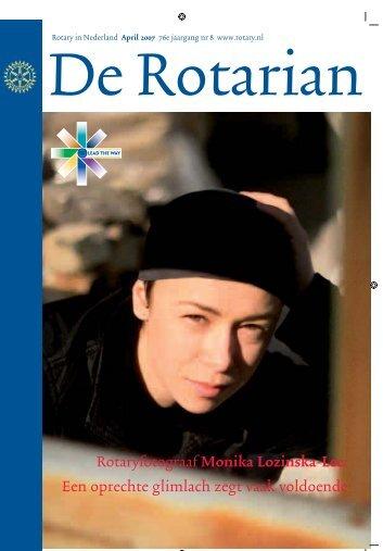 Rotaryfotograaf Monika Lozinska-Lee: Een ... - Rotary Nederland