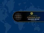 Plano Estratégico do RI - Relatório de Progresso - Rotary International
