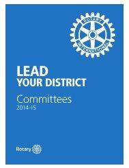 地区委員会の手引き(249-JA) - Rotary International