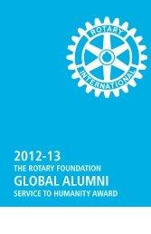 Informazioni sui beneficiari precedenti - Rotary International