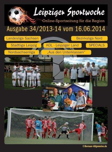 Ausgabe 34/2013-14 vom 16.06.2014