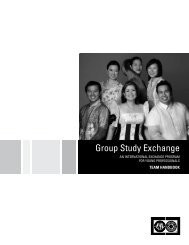 Group Study Exchange - Rotary International