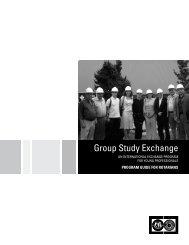 로타리안을 위한 프로그램 안내서: 연구단 교환 (GSE) - Rotary ...