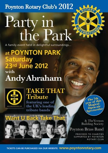 Party in the Park - Poynton Rotary