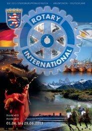 Die GSE-2013-Broschüre als Download - Rotary Distrikt 1820