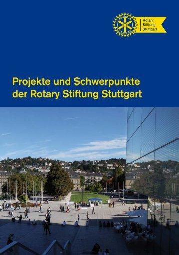 Die Rotary Stiftung Stuttgart