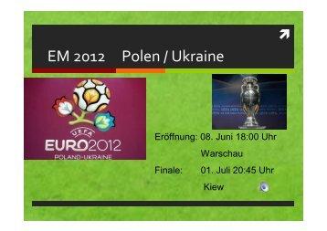 EM 2012 Polen / Ukraine