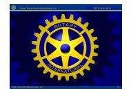Rotary Deutschland Gemeindienst e.V. RI Distrikt 1950, 2. Februar ...