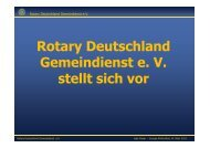 Rotary Deutschland Gemeindienst e. V. stellt sich vor - 1870