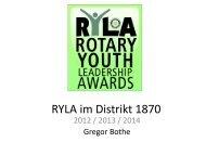 2014 - Rotary Distrikt 1870