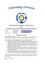 The Second 2011 Publication – Volume 3 Issue 2 from The Rotary ...