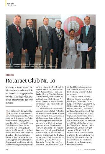Rotaract Club Nr. 10 - 1870