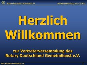 Rotary International - Rotary Distrikt 1870