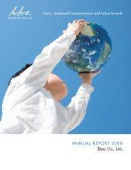 Annual Report 2008 - Eisai Inc.