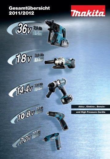 Gesamtübersicht 2011/2012 - betec-tools