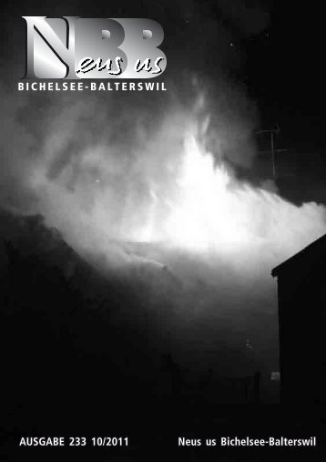 2011.10 [PDF, 6.00 MB] - Gemeinde Bichelsee-Balterswil