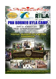 Youth – Builders of A Better Tomorrow - Rotary International District ...