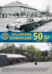 Sollentuna Rotaryklubb 50 år
