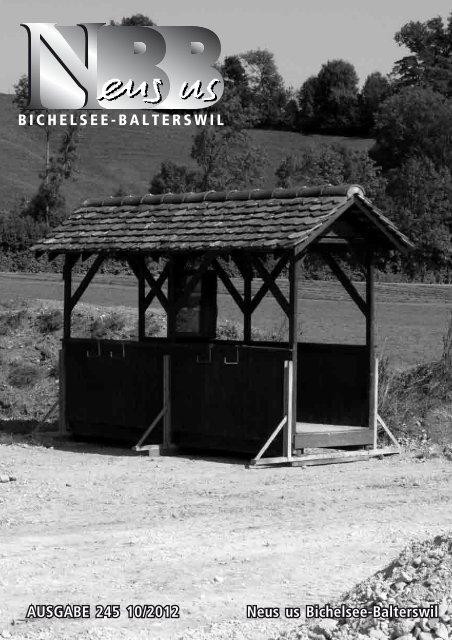 2012.10 - Gemeinde Bichelsee-Balterswil