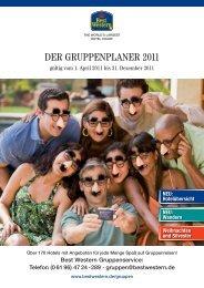 Telefon (0 61 96) 47 24 -289 · gruppen@bestwestern.de