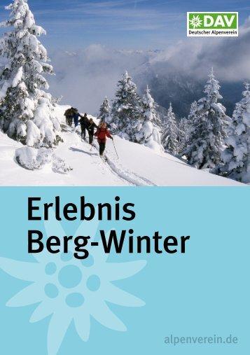 Erlebnis Berg-Winter - Geo-Coaching