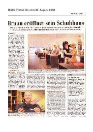 Bilder Presse Go vom 02. August 2008