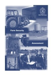 NSW Police Force Farm Security Assessment
