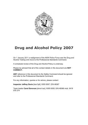 a paper on police drug law Law enforcement against drugs 50 law enforcement officers today in l tools to combat the dangers of drugs thank you to all the police and national guard.