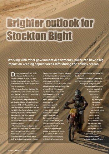 Police patrol Stockton sand dunes - NSW Police Force