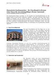 Hanseatische Kauf(manns)lust – Der Einzelhandel in Bremen Zehn ...