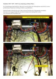 Heizlüfter 5kW / 9kW / 15kW Umverkabelung auf Silent Mode - Rotek