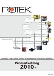 Produktkatalog - Rotek