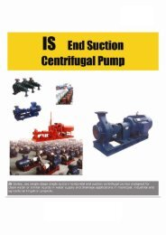 15 End Suction Centrilugal Pump - Rotek